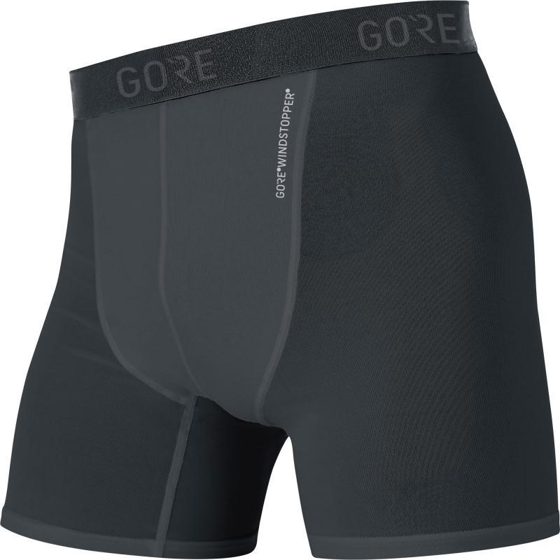 Boxerky Gore M WS Base Layer - pánské, černá - velikost L