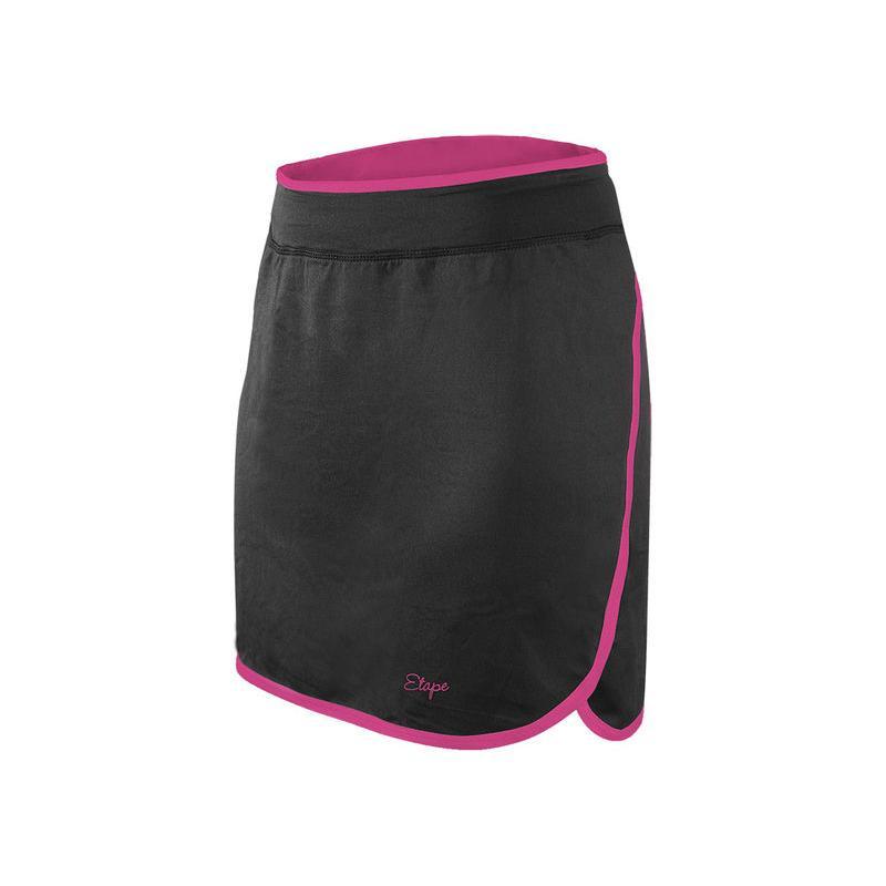 Sukně Etape Laura + - černo-růžová - velikost S