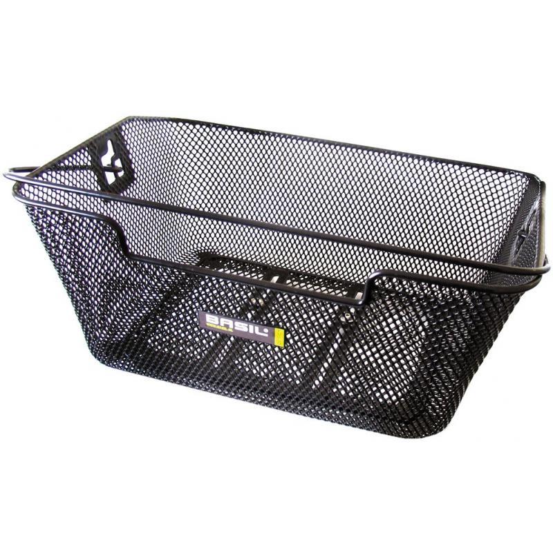 Košík Basil Capri Flex - na nosič, černý