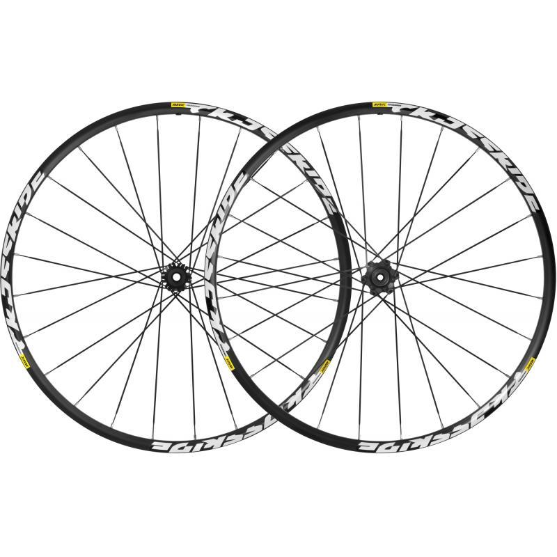 Zapletená kola Mavic CrossRide - set, černá, 6 děr (29)