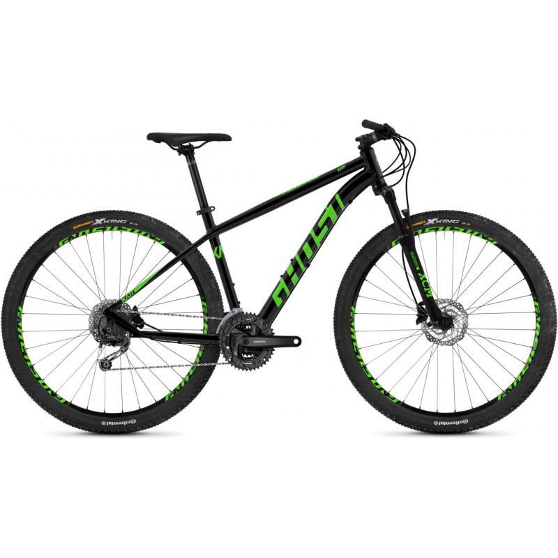 Ghost Kato 4.9 - night black-riot green 2019 (29) - velikost L, 50 cm (19,5)