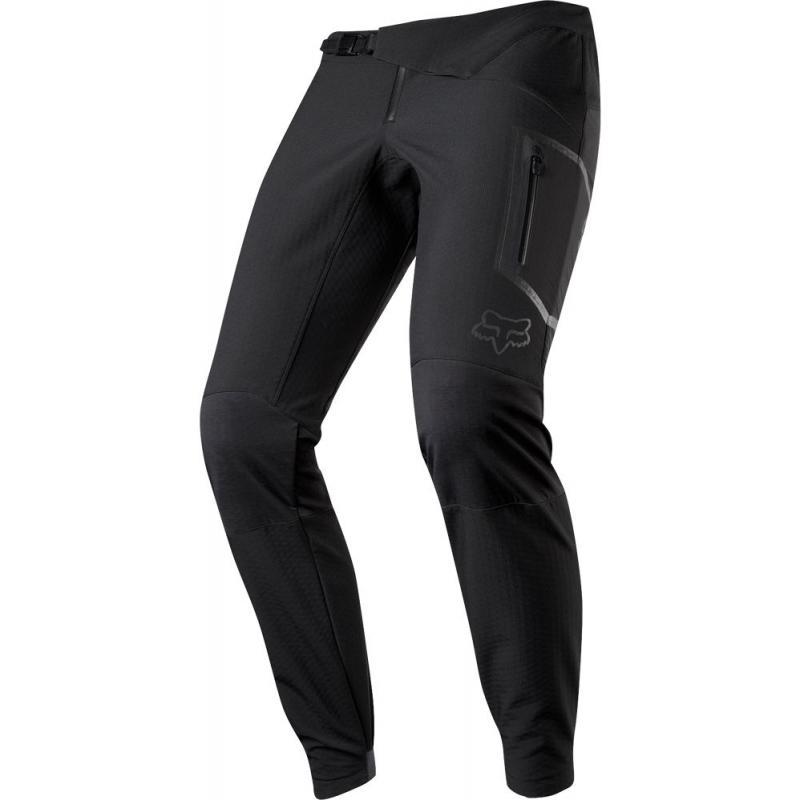 Kalhoty Fox Attack Fire Softshell - pánské, dlouhé, černá 22274-001 - velikost XL (36)