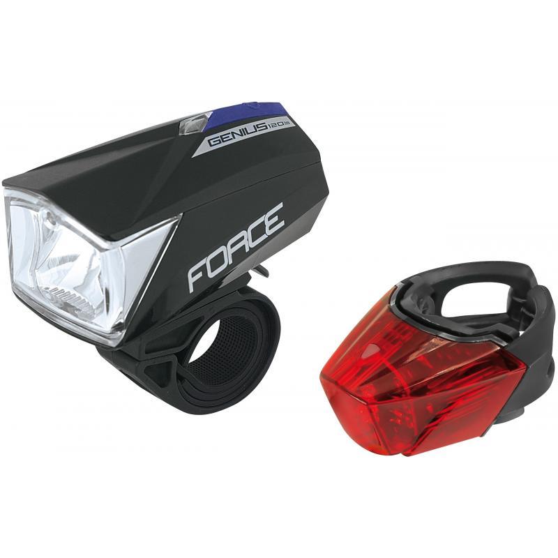 Fotografie Sada světel Force Canny - přední+zadní, USB 45409